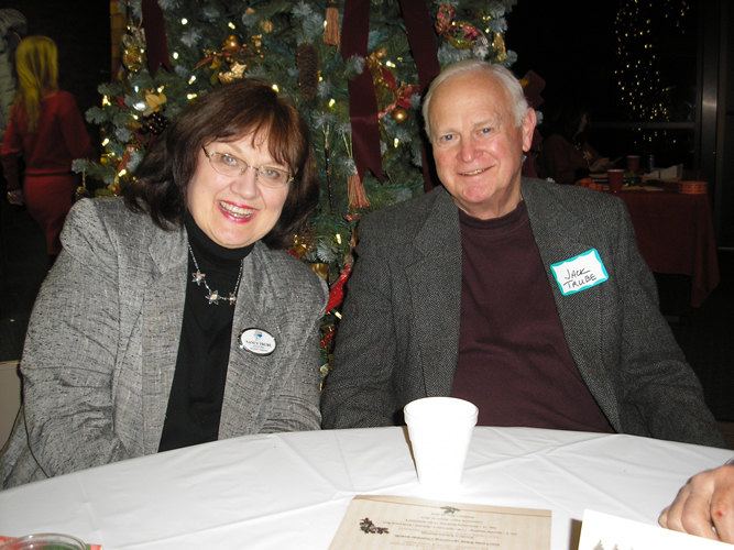 Nancy Trube at 2014 Holiday Party