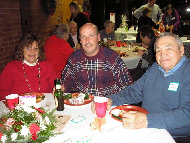 Ridgway Table at 2014 Holiday Party