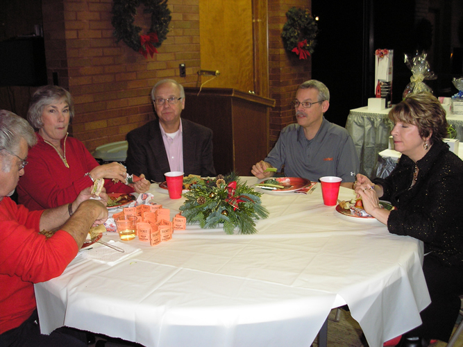 Table 3 at 2014 Holiday Party
